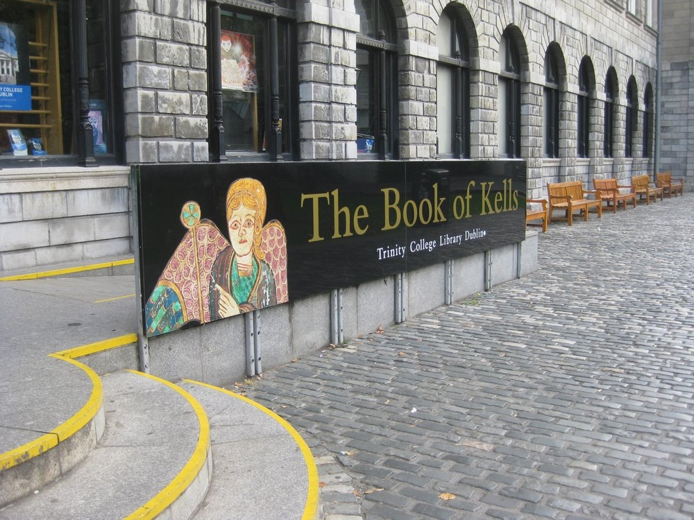 Book of Kells- Trinity College