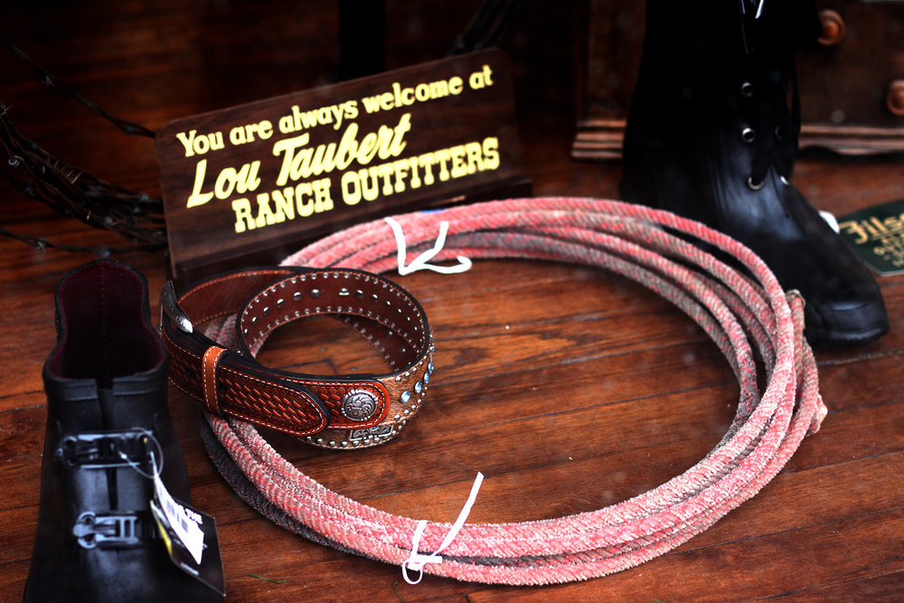 Lou Taubert Ranch Outfitters has been a staple in Downtown Casper for as long as I can remember.