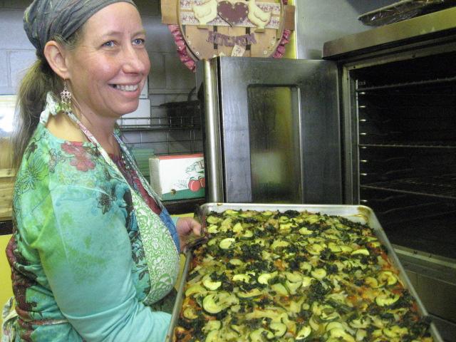 Julie Costell, owner of Ms. Julie's Kitchen