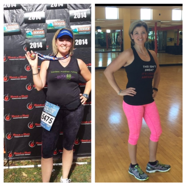 """Meet Amy! One-on-one individual coaching client. """"I learned so much from Verve that it is tough to put it all into words. One thing that I loved and appreciated was the individualized meal guide. It was a great road map for a sustainable way of eating forever. It took into account my health issues, my likes and dislikes. Verve helped me realize that I needed to pre-plan my meals for the week and for upcoming events in order to be successful, and they taught me how to do this in a way that was not time consuming. One thing that I loved was being able to text my coach and have them look up the restaurant I was eating at, and help me pick what I was going to order ahead of time, super helpful!! My coach was a sounding board not only on nutrition, but for all of the other stress' that were going on in my life, which was helpful because those things definitely affected my eating habits. I loved the accountability I received, even after I had reached my goals. My coach was always responsive in such a timely manner, and her texts and emails in between our meetings gave me the accountability I needed! This is what I needed most! I not only lost weight, but I learned the """"why"""" about what I was doing. I gained confidence, energy, and a new passion for life! The passion my coach has for what she does comes through in the way she cares about her clients. Above everything else, I consider my coach a friend who I trust wholeheartedly."""" -Amy L"""