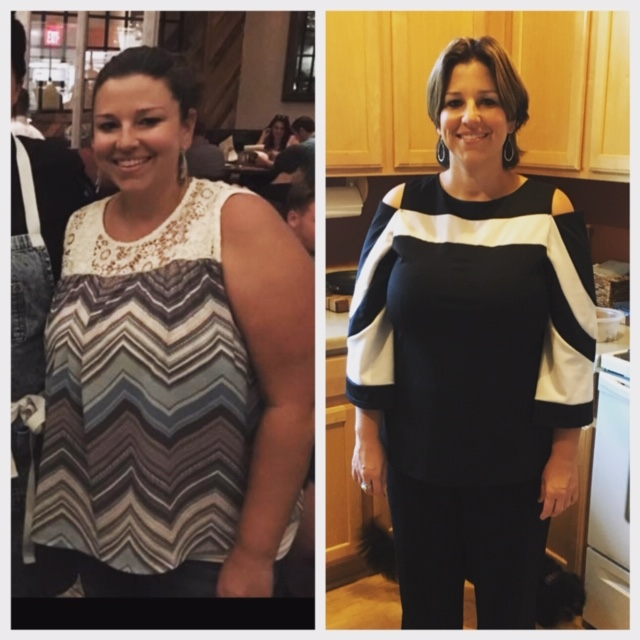 """One-on-One coaching client Nikki B- """"I would highly recommend Verve 360 Nutrition to anyone, no matter where you are in your personal journey. A few years ago I lost 65 lbs and then gained it back within a year. I am now down 35 lbs and 100 percent confident that I will make my personal goals and will keep it off this time for life!! This time working with Julia has helped me gain a healthy relationship with food and tackle the mental game of eating. Julia's 24/7 support was exactly what I needed And I am now confident, healthy and so strong again. She helped me get my life back on track!! Today I saw my brother who said,"""