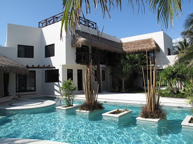 Past project in Akumsl, Mexico #tbt #akumal #residential #customresidential