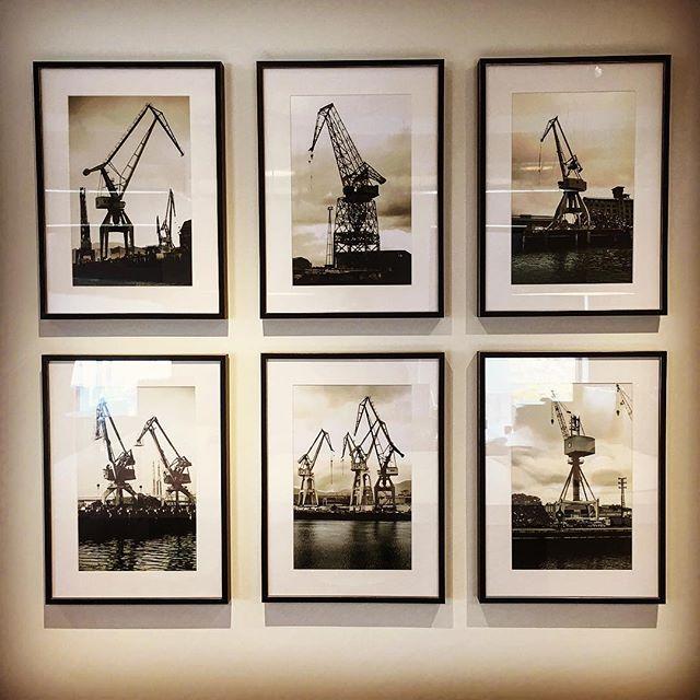 @angelalvarez2012 #vintagebilbao #cranes #bilbao #fromdenvercolorado #blackandwhite