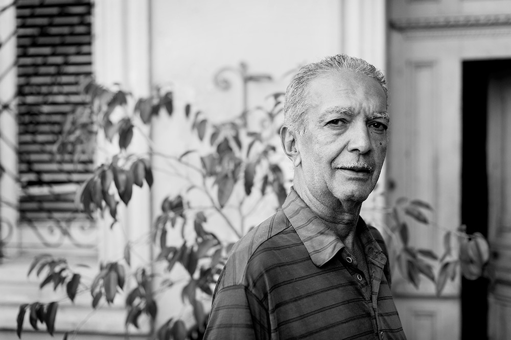 Home owner in Havana, Cuba 2012 ©Jens Lennartsson