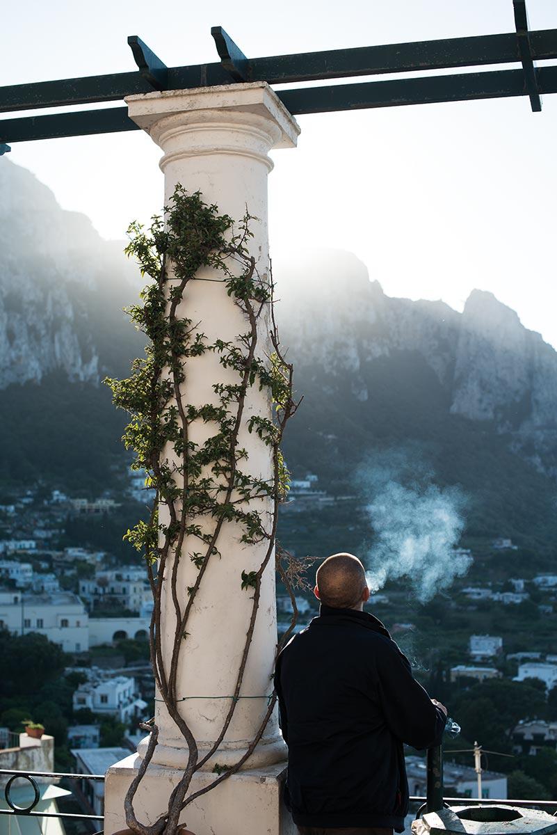 Capri Town, Italy2013. ©Jens Lennartsson