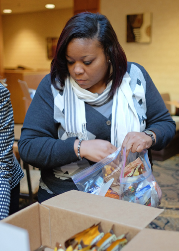 Blessing Bags for Street Grace