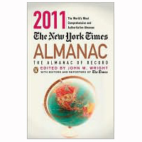 Executive Editor: The New York Times Almanac (ed. 2010–2011)