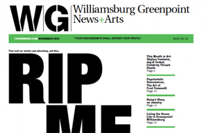 WILLIAMSBURG-GREENPOINT NEWS + ARTS: COMBO PLATE OF CONSCIOUSNESS & ACTIVISM