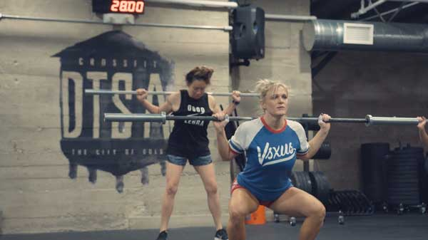 CrossFit Girls Workout of the Day WOD