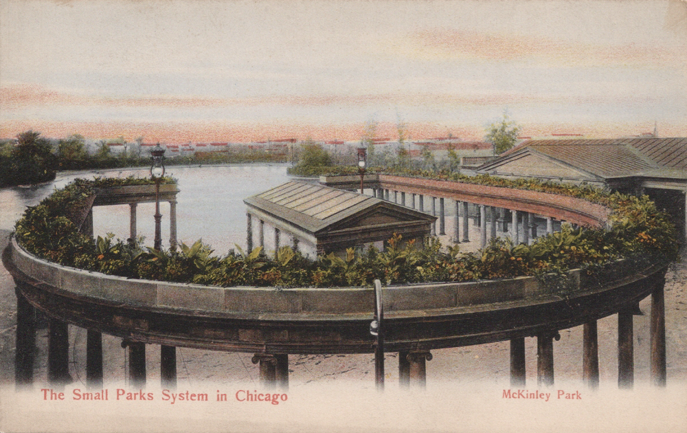 Original architectural design of the McKinley Park fieldhouse.