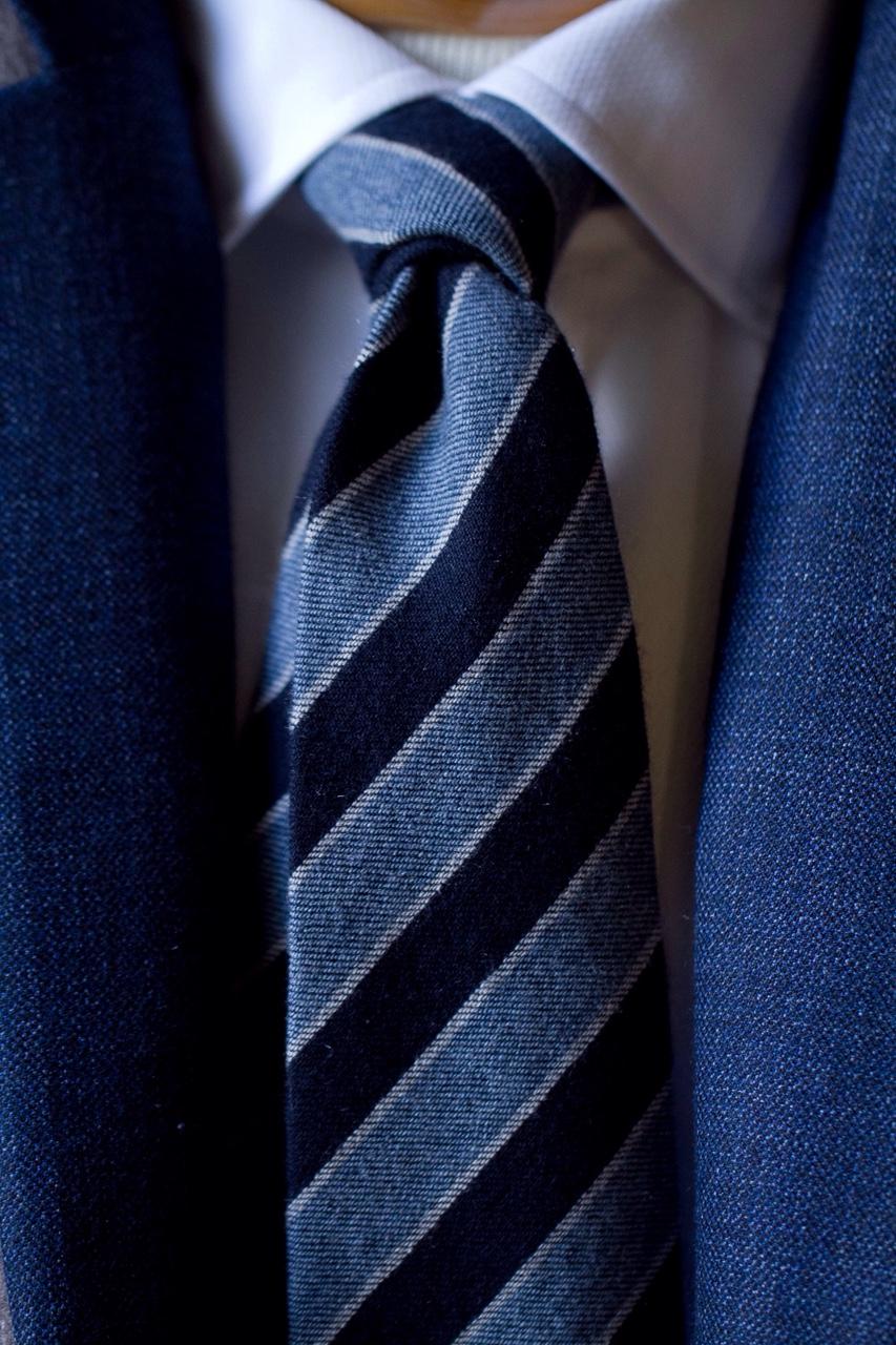 1701 Bespoke cashmere tie