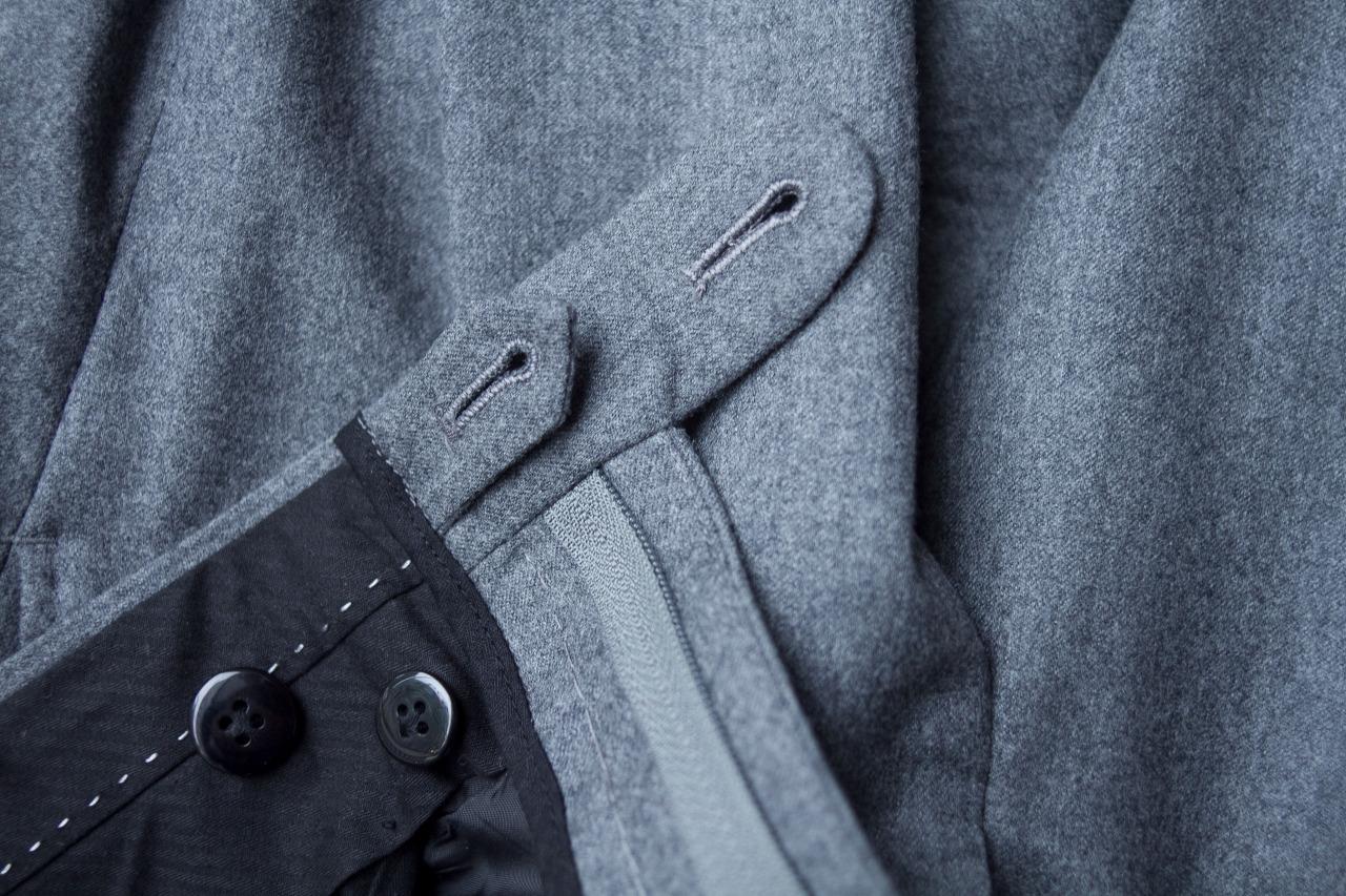 Handmade 1701 Bespoke trousers.