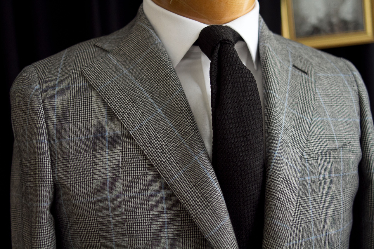 1701 Bespoke handmade jacket with Ariston fabric