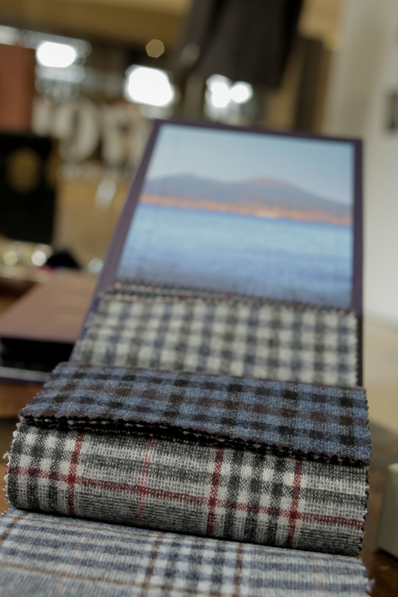 F/W Fabrics from Ariston of Napoli