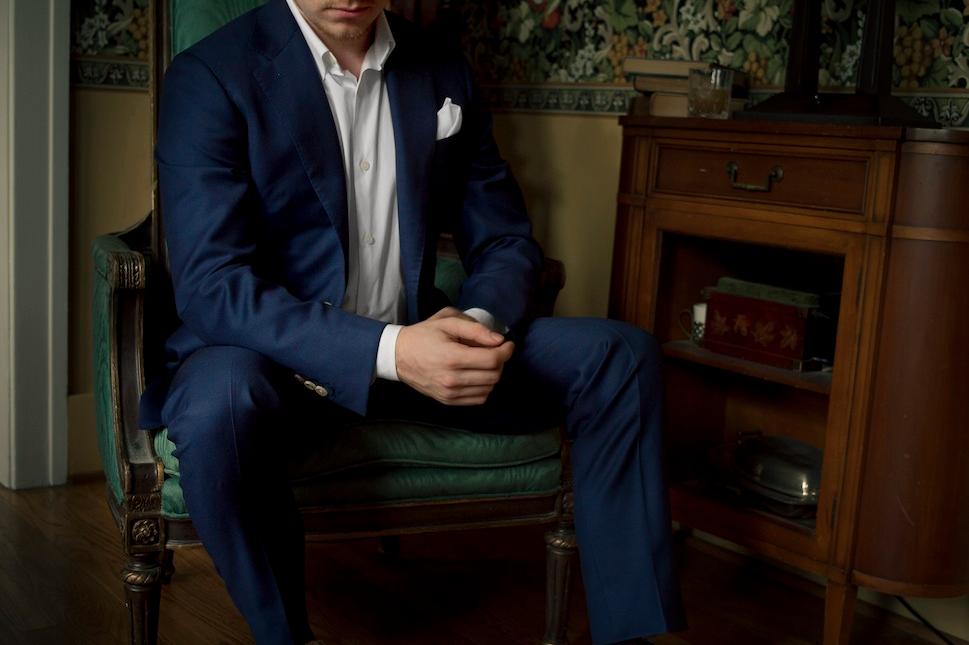 1701 Bespoke handmade suit