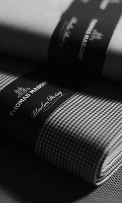 Thomas Mason shirting fabrics.