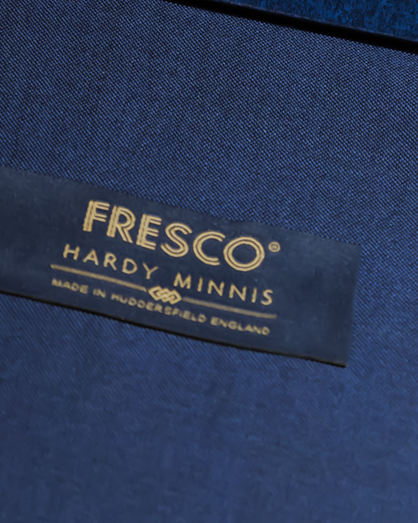 Fresco fabrics, trademarked by Martin & Sons, now owned by Hardy Minnis, creates an open weave that is very durable and breathes easier.