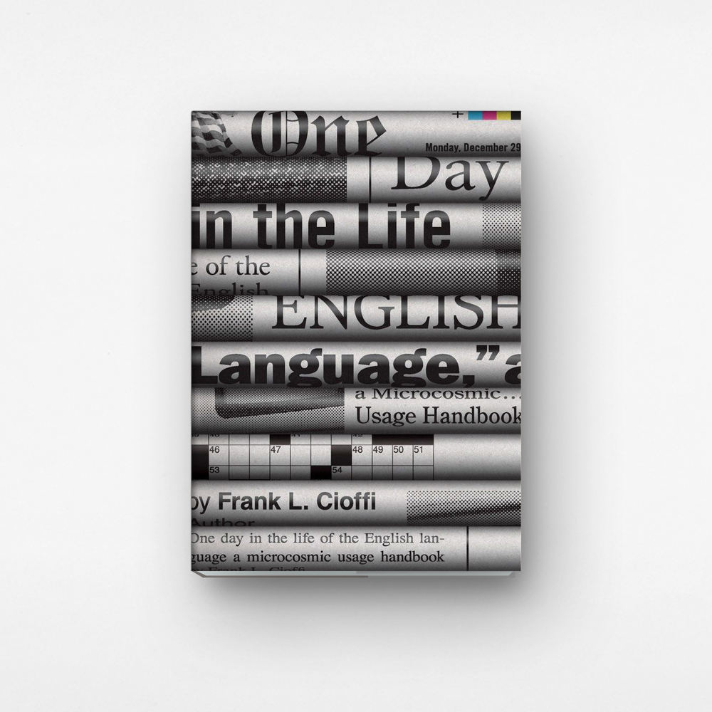 One Day in the Life of the English Language designed by Chris Ferrante