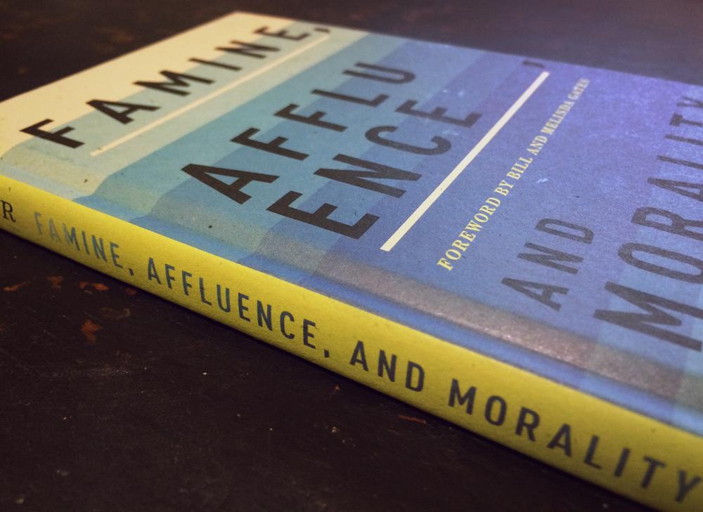 famine affluence and morality analysis