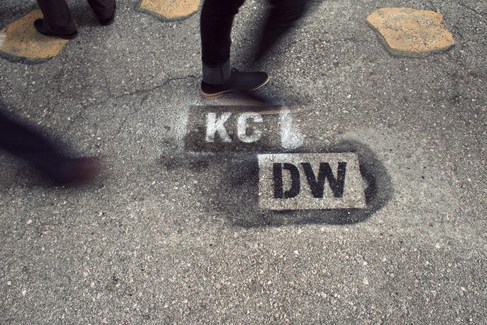 KCDW 2016 Street Stencils
