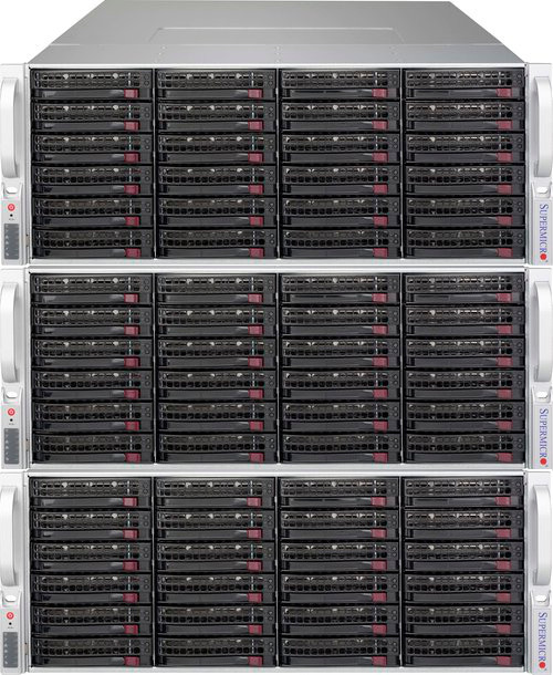 QuantaStor SDS Object Storage Configurations start at 3x appliances and scale to 64x appliances per grid.