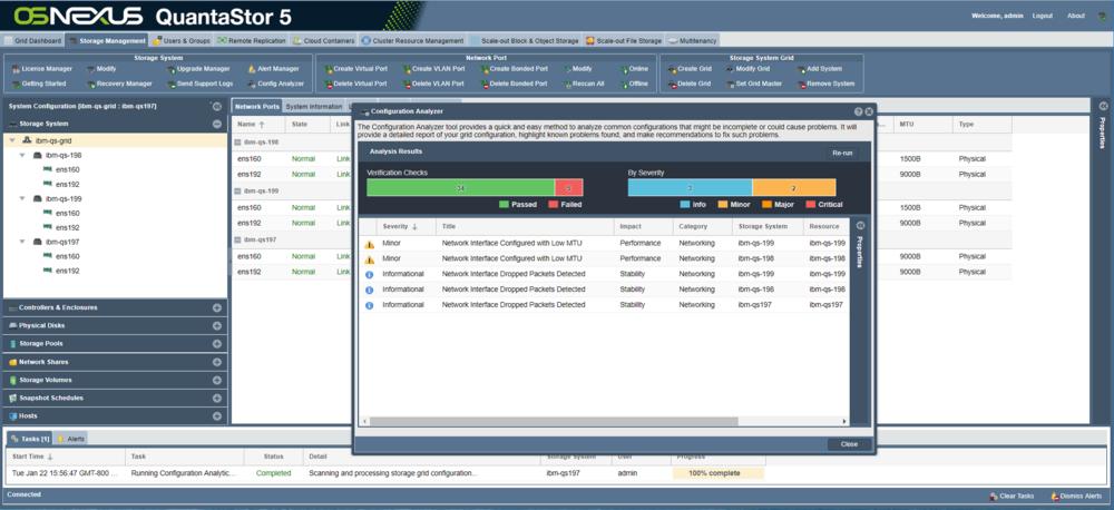 Grid Configuration Analyzer