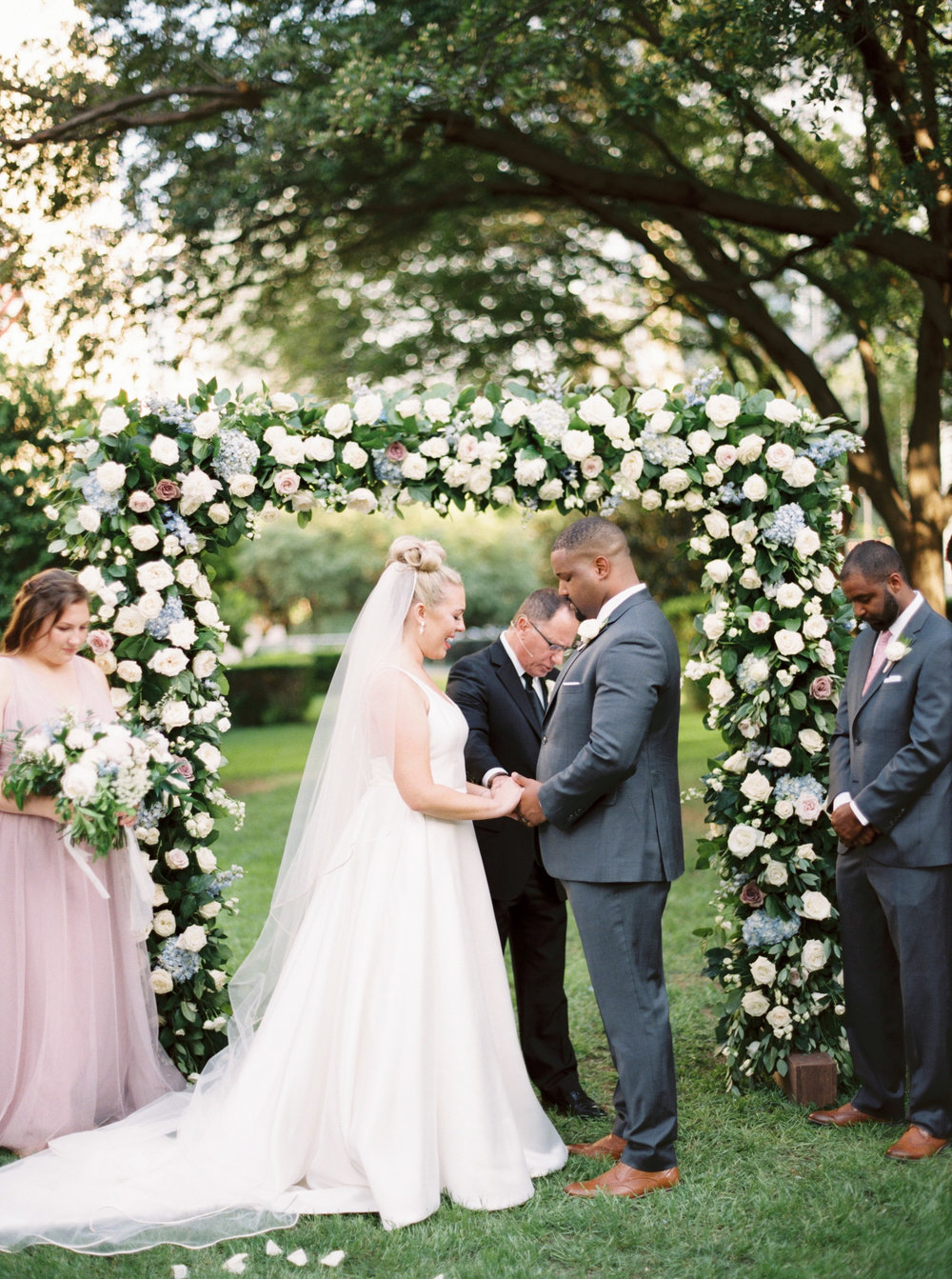 Summer Floral Garden Party Wedding at Marie Gabrielle, by Dallas destination wedding photographer Tracy Enoch