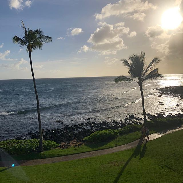 Oh how I've missed this place. We started coming here 20 years ago. I was still competing and Tom was still a @broncos. We got married on this island, and have made life long friends here. #HappyToBeBack #HomeAwayFromHome #Ohana