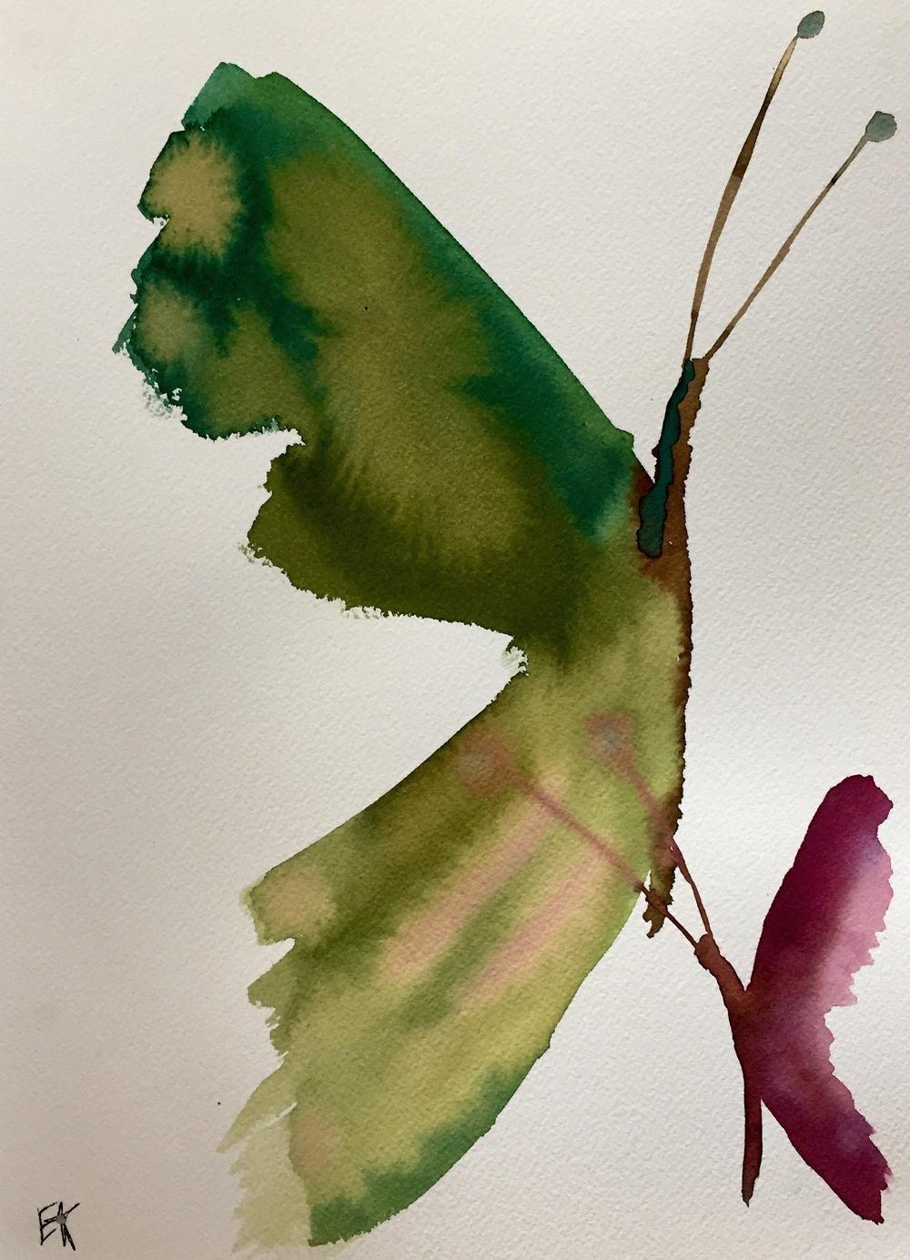 Le Papillon Vert. 2015