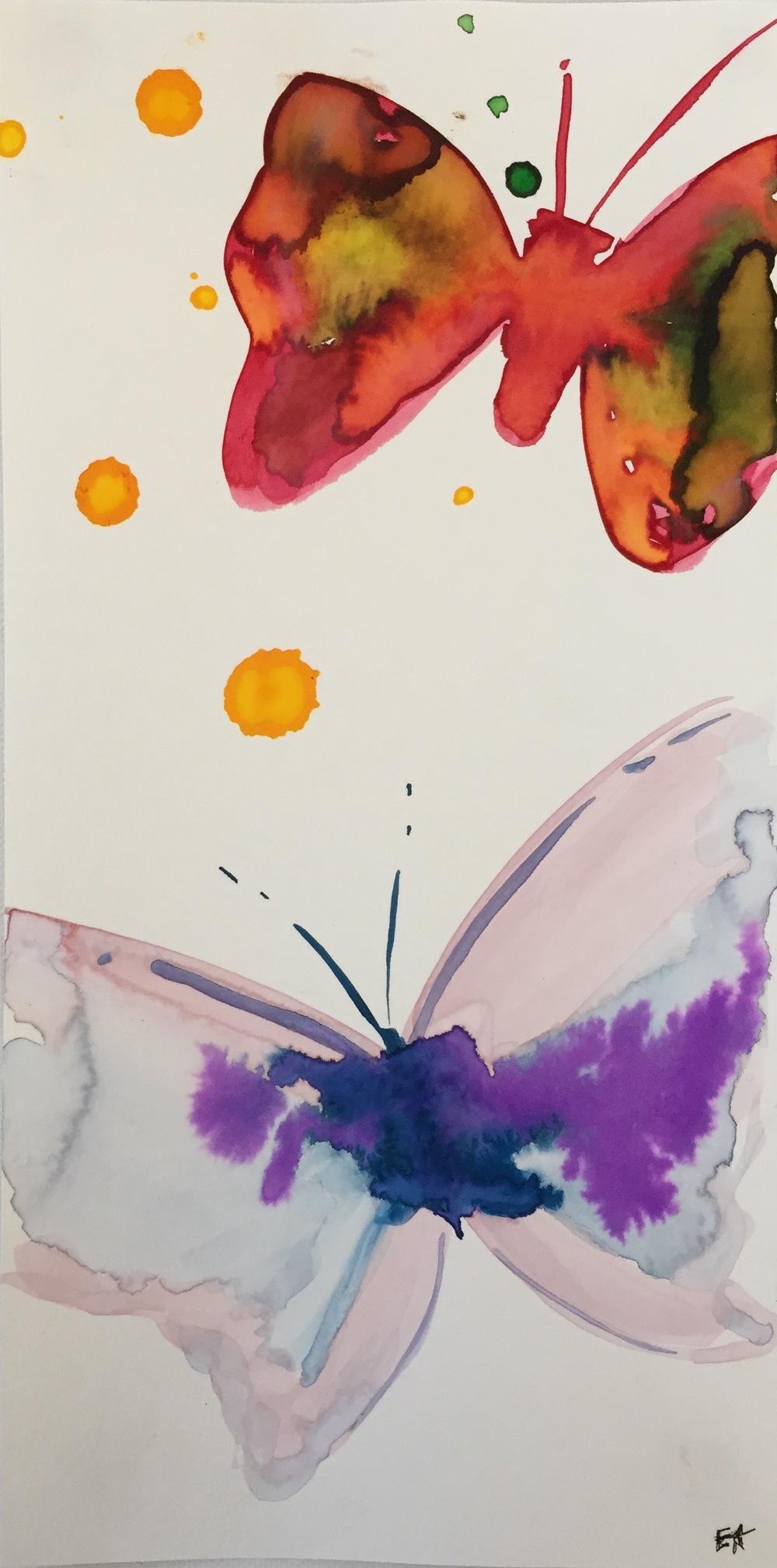 Les Papillon Volent 1, 2015