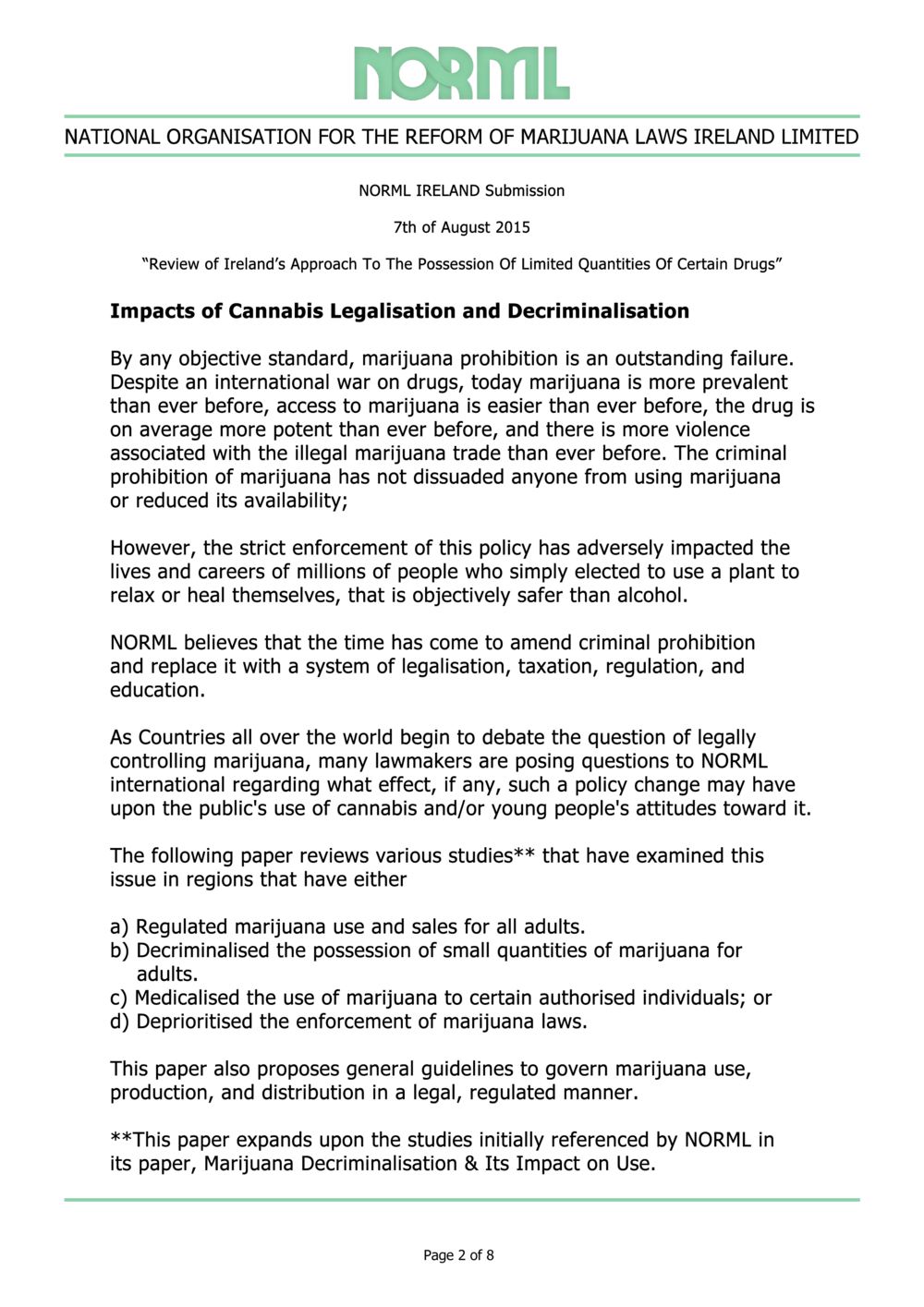 NORML Ireland Submission Page 2 of 8.png