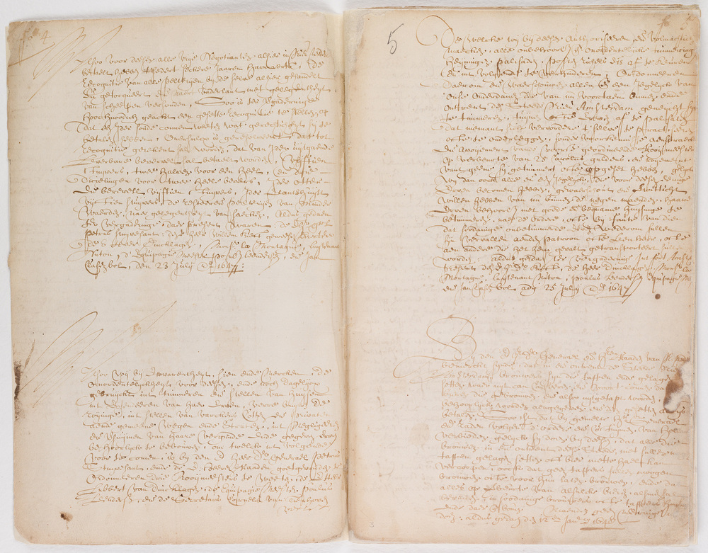 Ordinances of New Amsterdam, page 4-5