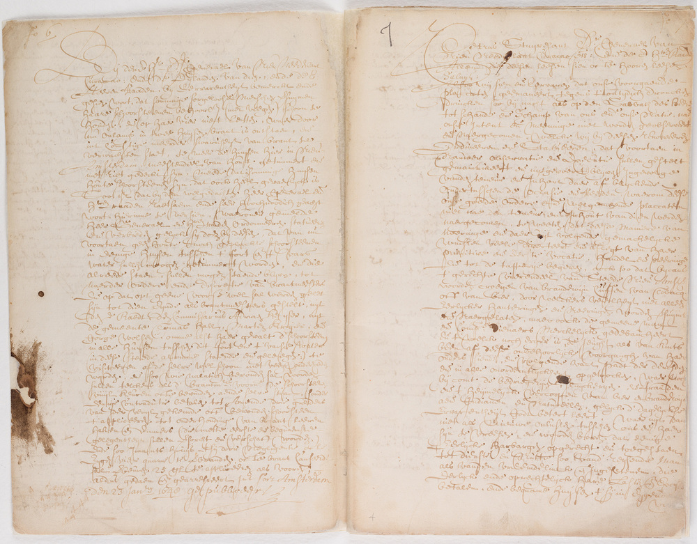 Ordinances of New Amsterdam, page 6-7
