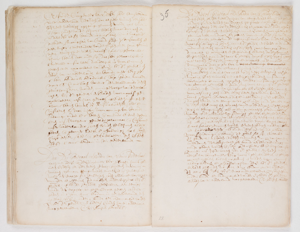 Ordinances of New Amsterdam, page 34-35