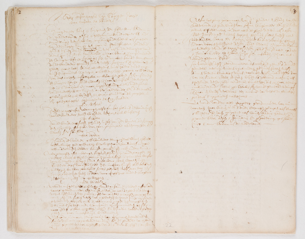 Ordinances of New Amsterdam, page 42-43