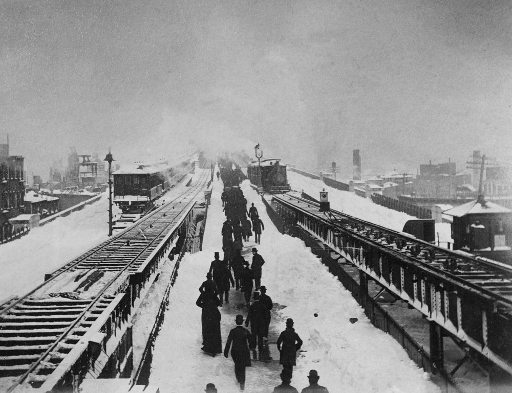 After the Great Blizzard, March 13, 1888