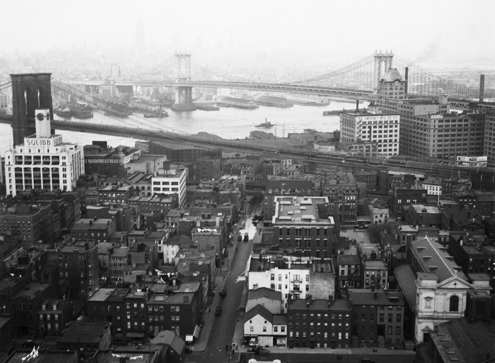 Brooklyn Heights, April 3, 1935