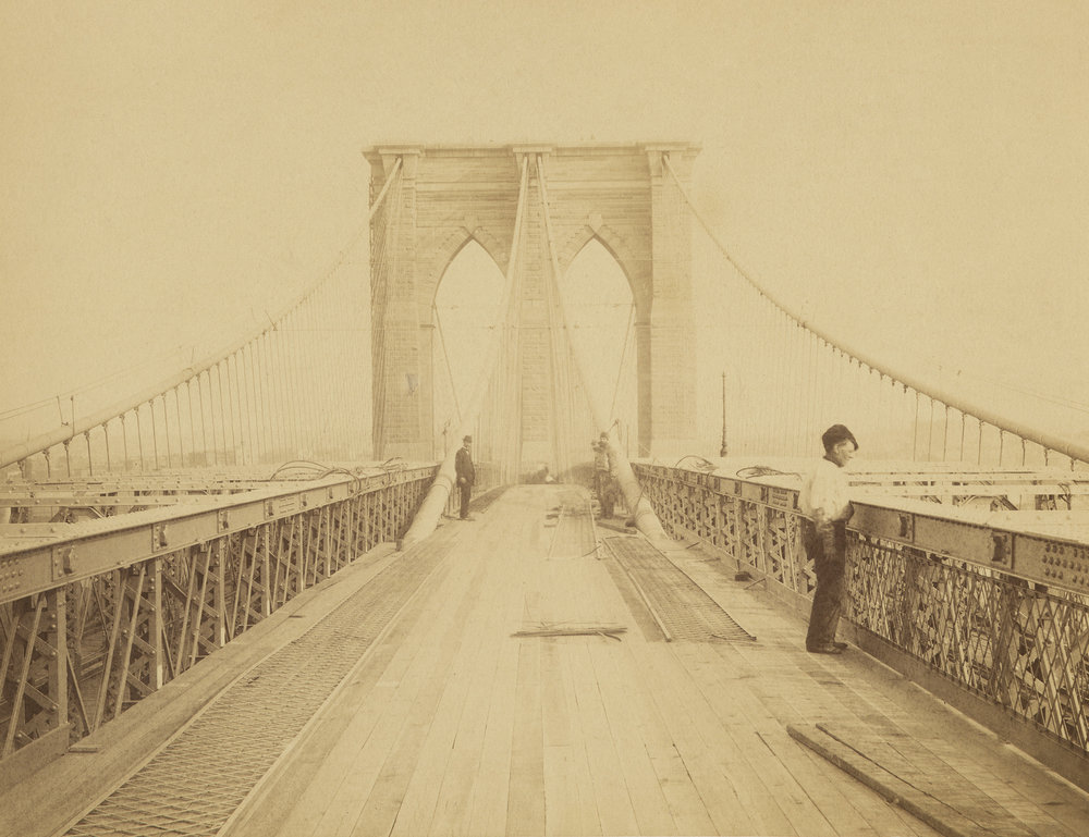 Brooklyn Bridge, ca. 1882-1883
