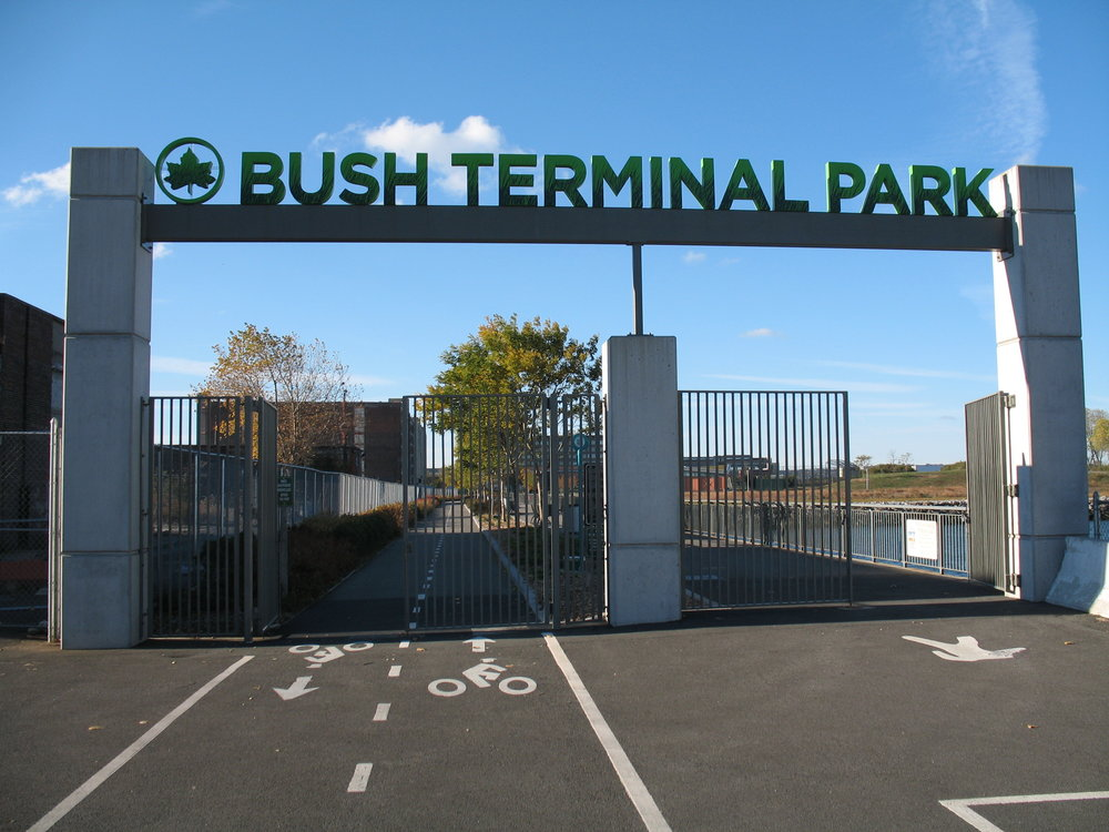 Bush Terminal Park, 2016.  Photos: Marc Kirkeby.