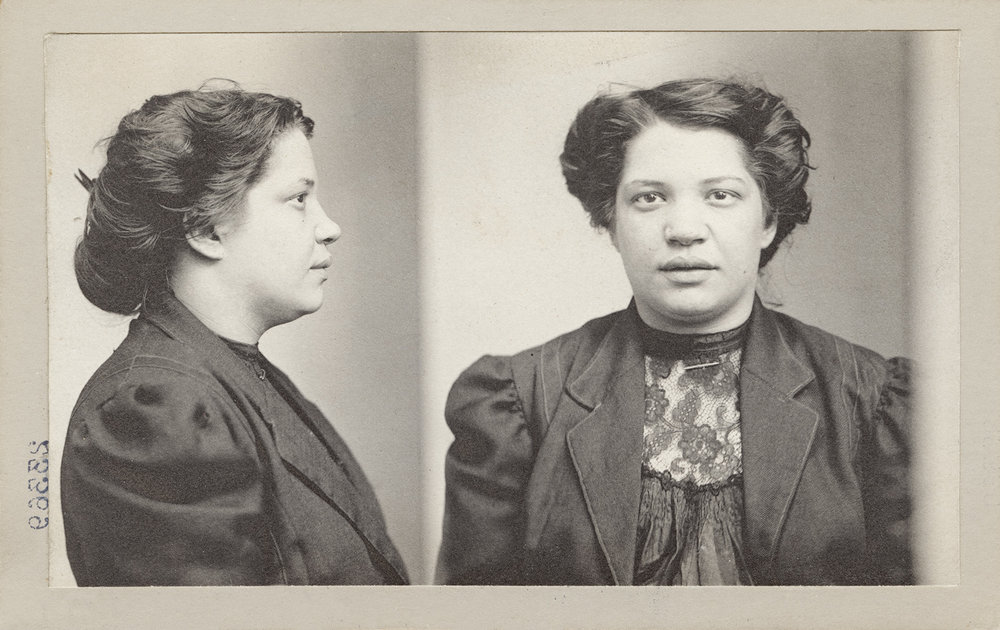 "Lillie Bates, June 17, 1909    Crime: ""Badger"""