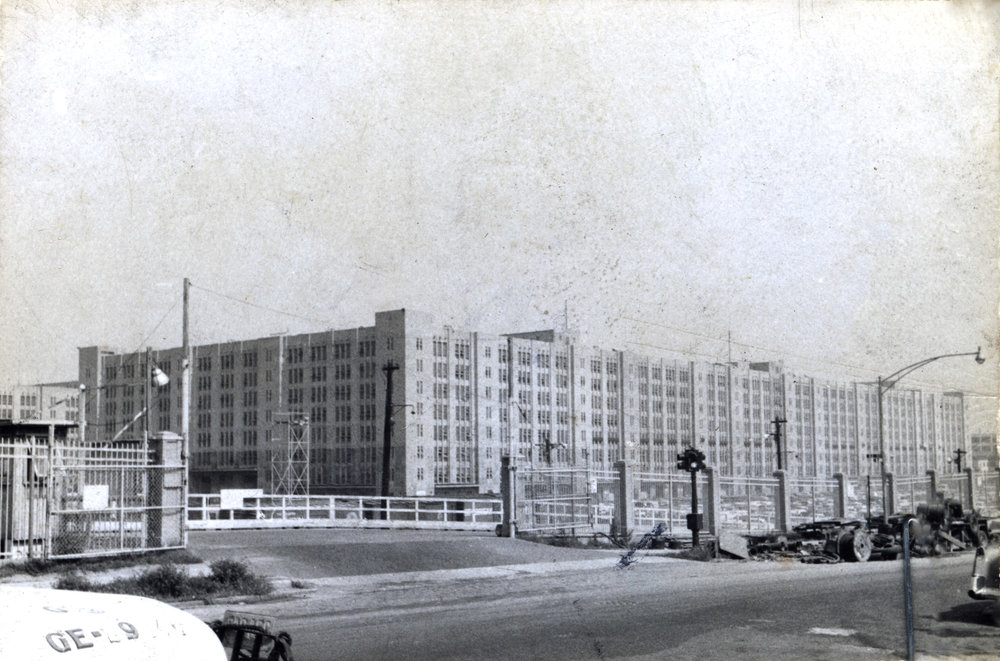 Brooklyn Army Terminal, 1958.  NYC Municipal Archives.