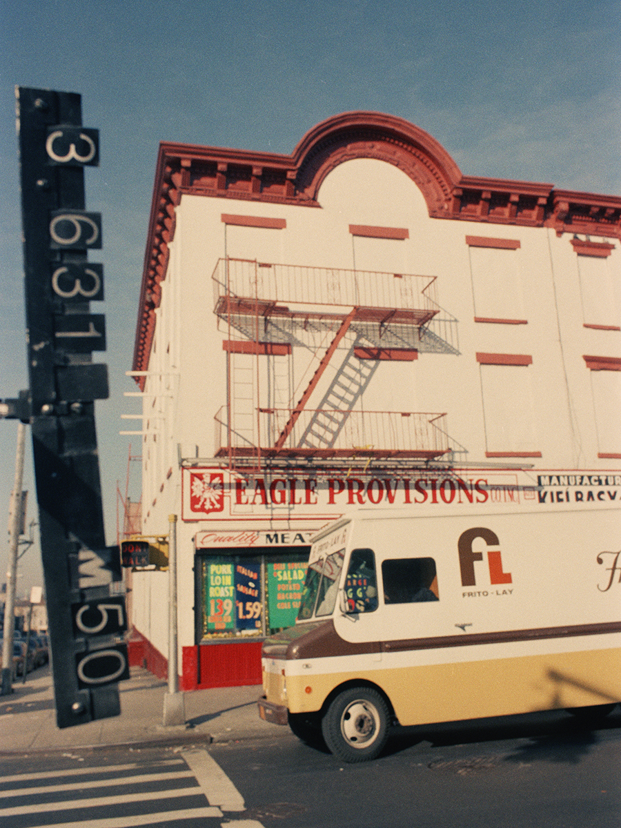 628 5th Avenue, Brooklyn, NY. 1983-1988.   NYC Municipal Archives.