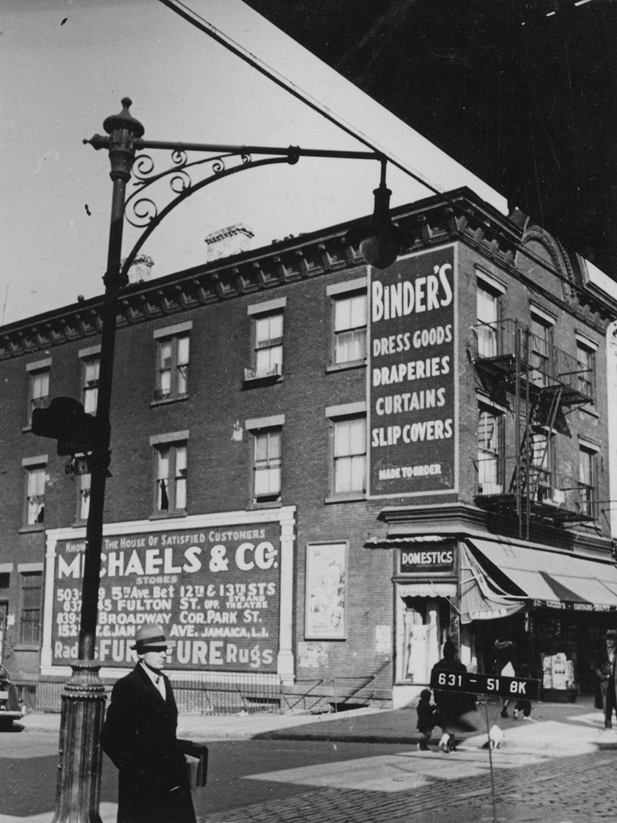 628 5th Avenue, Brooklyn, NY. 1939-1941.  NYC Municipal Archives.