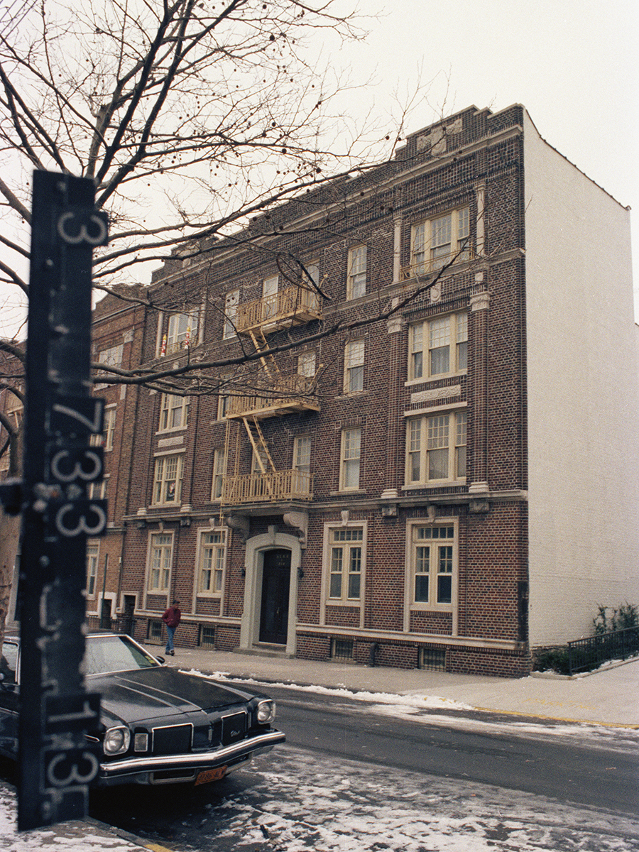816 43rd Street, Brooklyn, NY. 1983-1988.   NYC Municipal Archives.