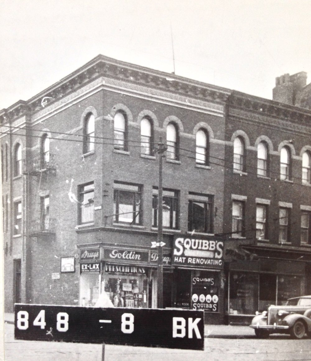 5701 5th Ave at the corner of 57th Street. 1939-1941. NYC Municipal Archives.