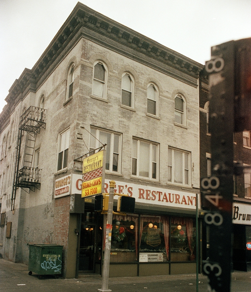 5701 5th Ave at the corner of 57th Street. 1983-1988. NYC Municipal Archives.