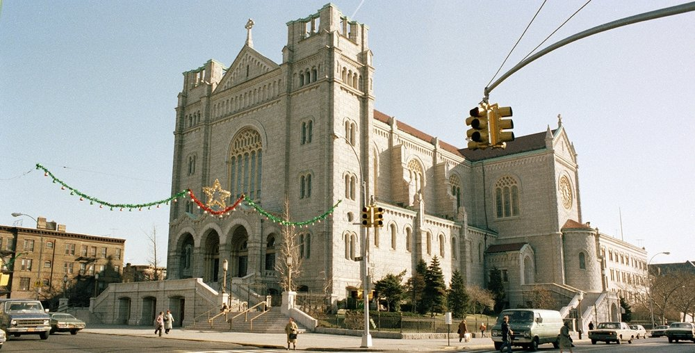 Our Lady of Perpetual Help, 5th Ave between 59th-60th Streets. 1983-1988. NYC Municipal Archives.