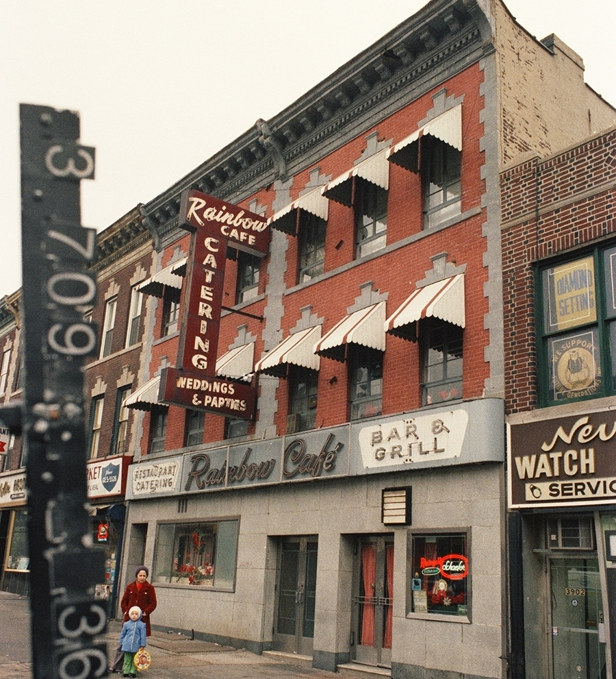 3904 5th Ave between 40th-41st Streets. 1983-1988. NYC Municipal Archives.
