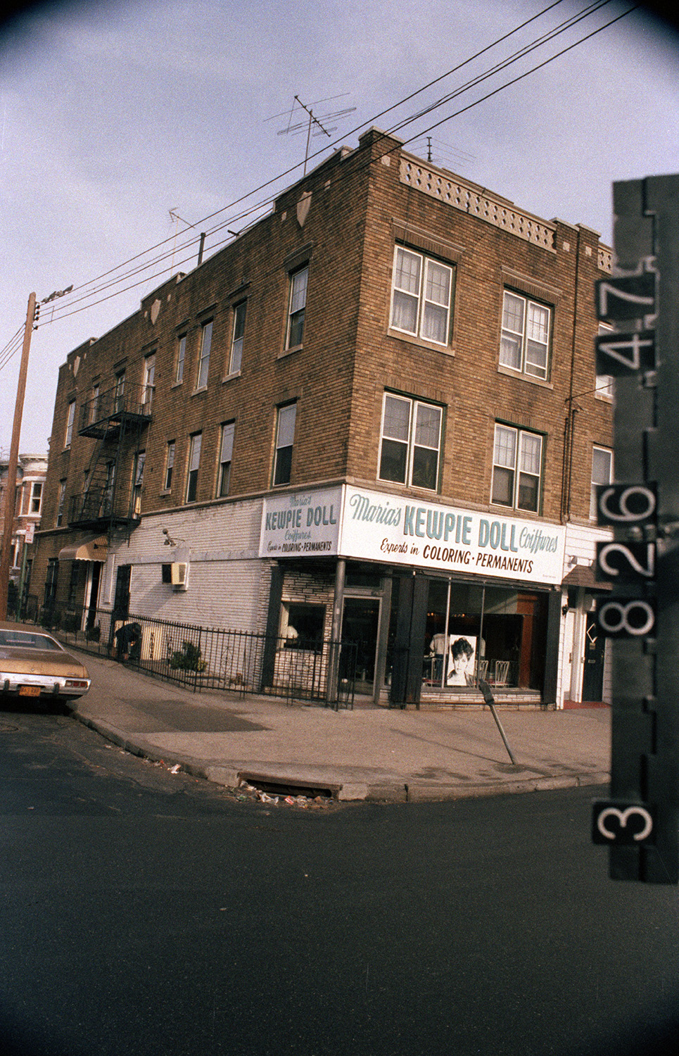 5424 8th Ave. (at 54th St.), Brooklyn, 1983-1988. NYC Municipal Archives.