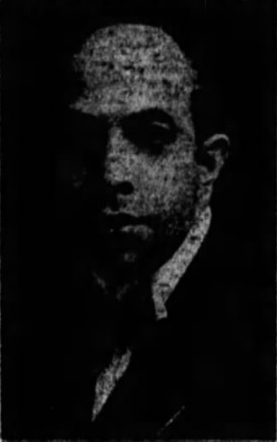 James L. Marshall, pictured in the  New York Age , April 11, 1925.